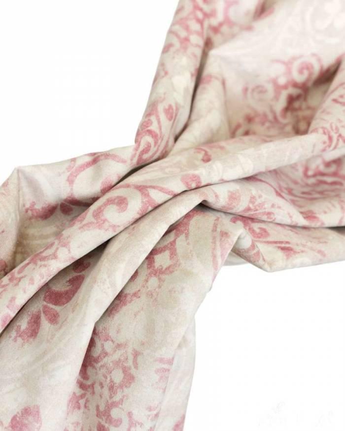 Material draperie Velvet print Romantica