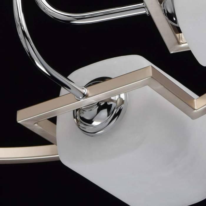 Plafonieră Cassi, 46x60 cm, metal/ sticla, auriu