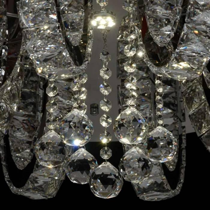 Plafonieră clasică cu cristale Varese