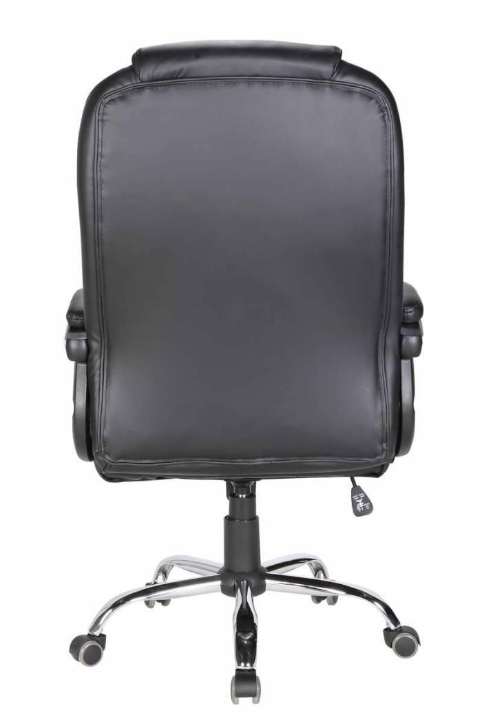 Scaun de birou ajustabil Everton, PU, negru