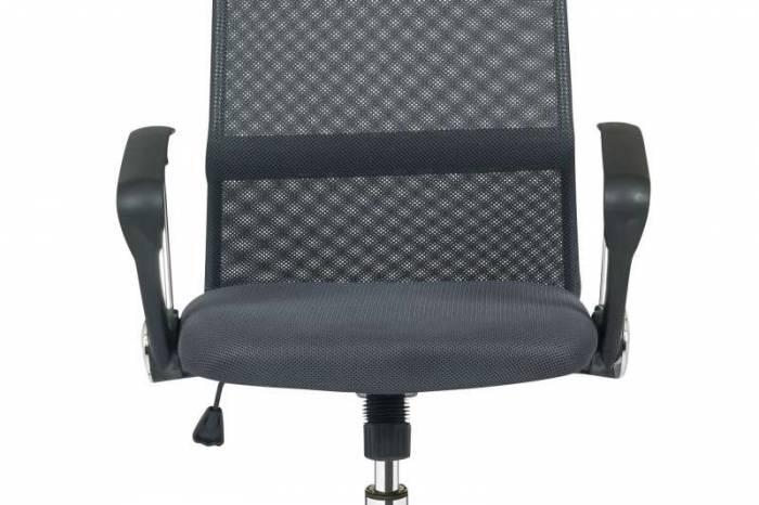 Scaun de birou cu spătar mesh Alera, negru