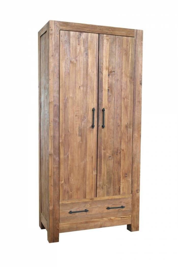 Șifonier dressing Frama, 210x50x100 cm, lemn, maro