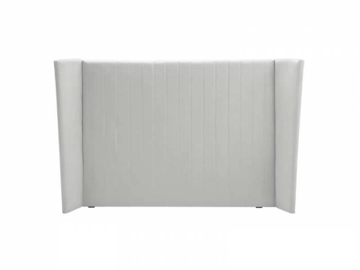 Tăblie de pat Vegas, argintiu, 204(160)x20x120 cm
