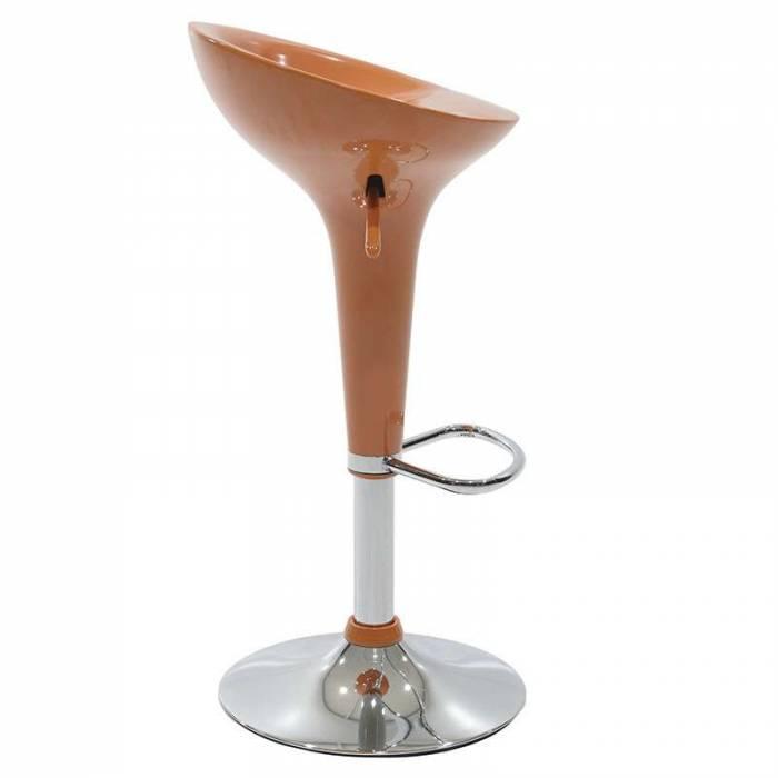 Scaun de bar Virgil Orange