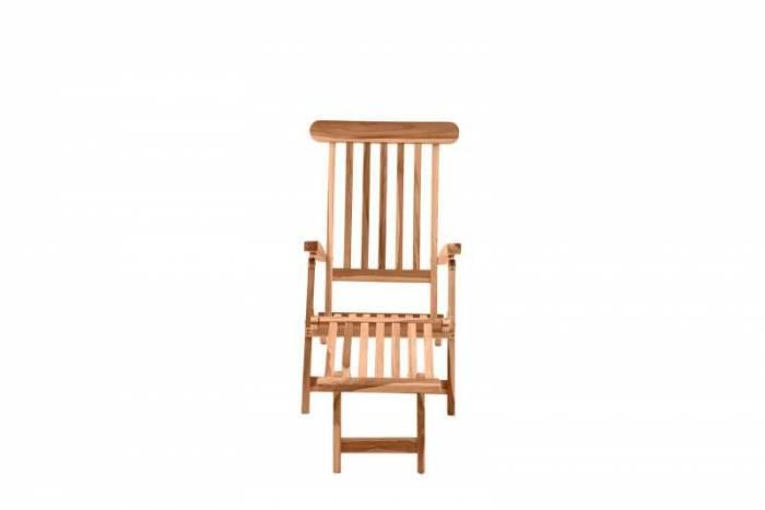 Scaun de grădină din lemn Nelida, 87x58,5x149 cm, lemn, bej