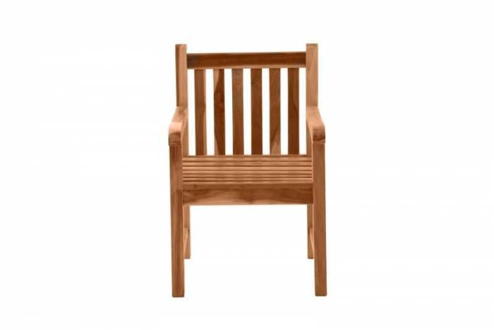 Scaun de grădină Maryetta, 63x92x60 cm, lemn, bej