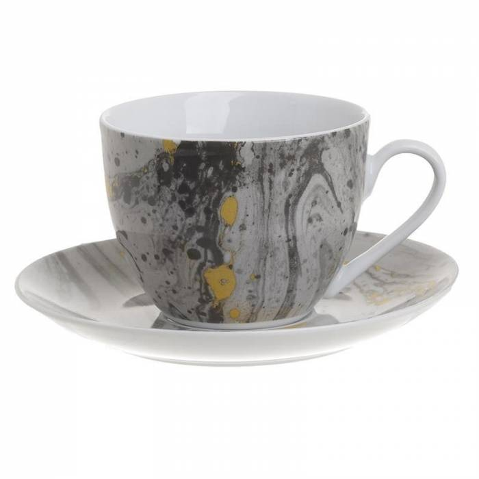Set din porțelan pentru ceai Debera