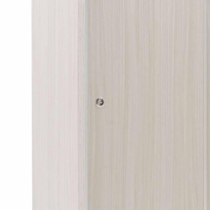 Șifonier cu 2 uși Bolero White Grey 110
