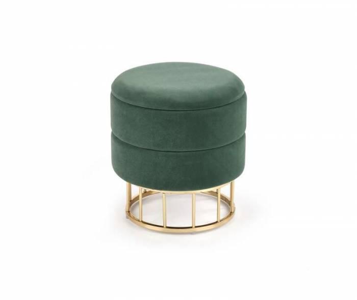 Taburet verde Stella