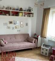 Canapea extensibilă Stuttgart, 3 locuri, roz