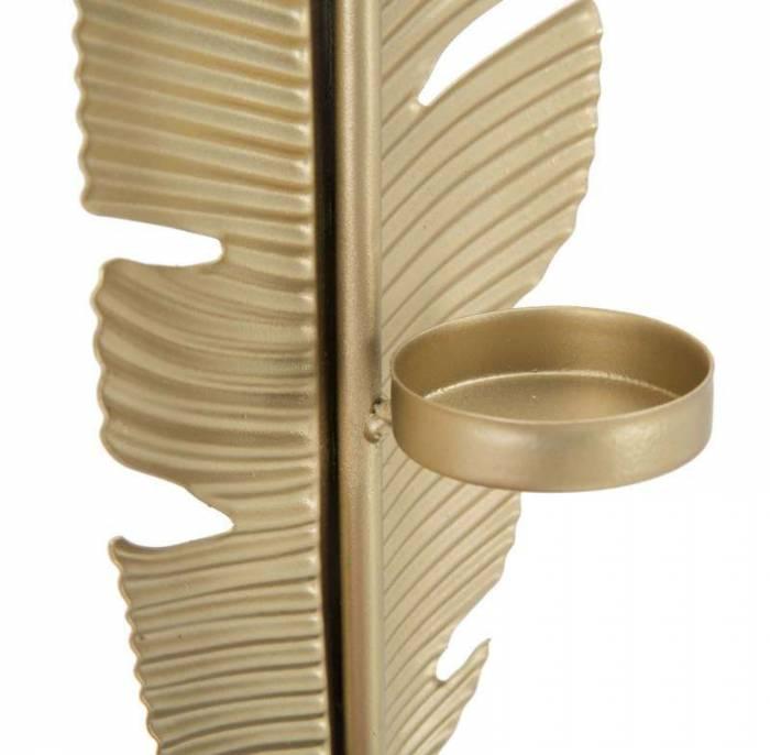 Decorațiune Ja, 34x10x10 cm, metal, auriu/ negru