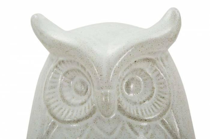 Decorațiune Jerica, 25x15.5x14.5 cm, ceramica, alb
