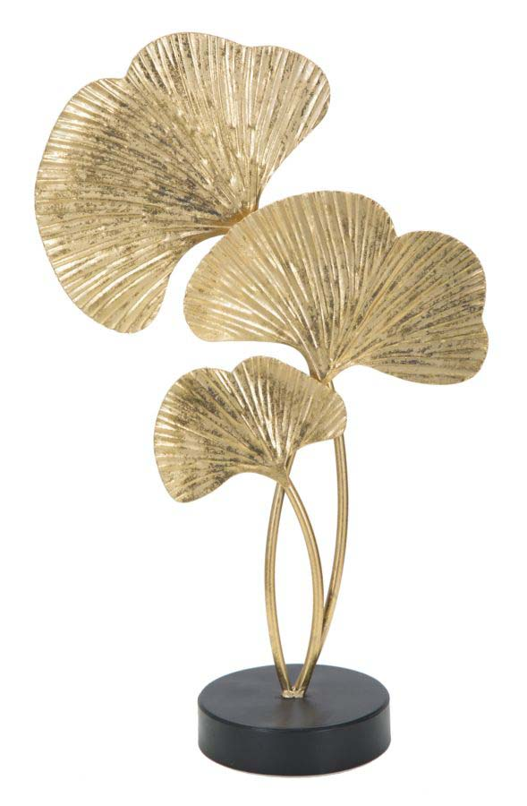 Decorațiune Linares, 40,5x24,5x10,5 cm, metal, auriu