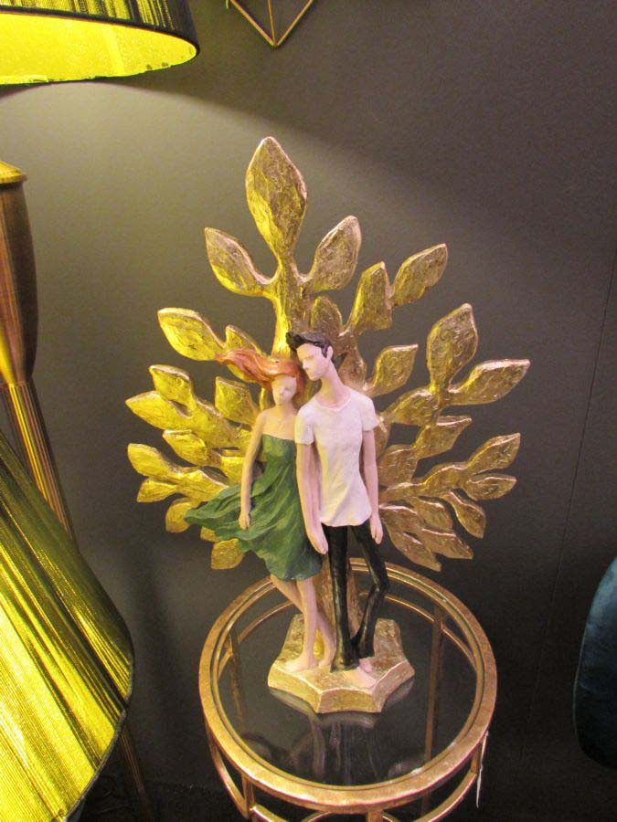 Decorațiune Lorrie, 52x35x13 cm, rasina, multicolor
