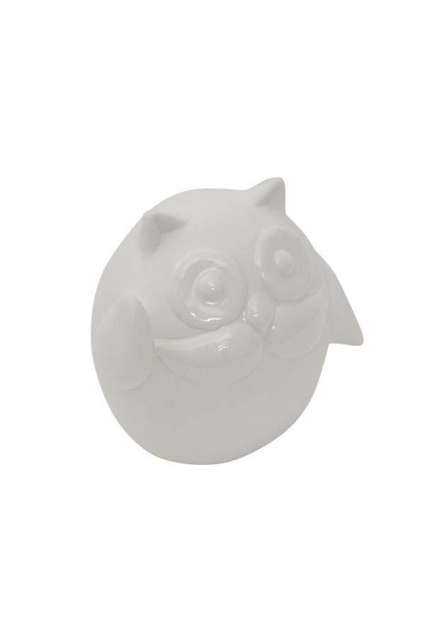 Decorațiune Salento, 8.5x9.5x6.5 cm, portelan, alb