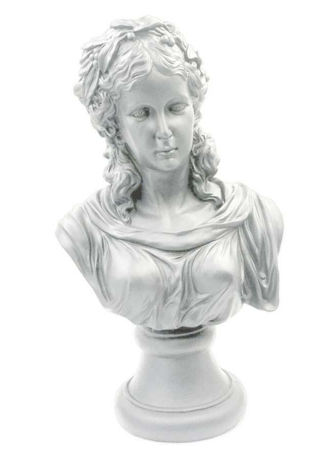 Decorațiune Velda, 60x35,5x23 cm, polirasina , alb