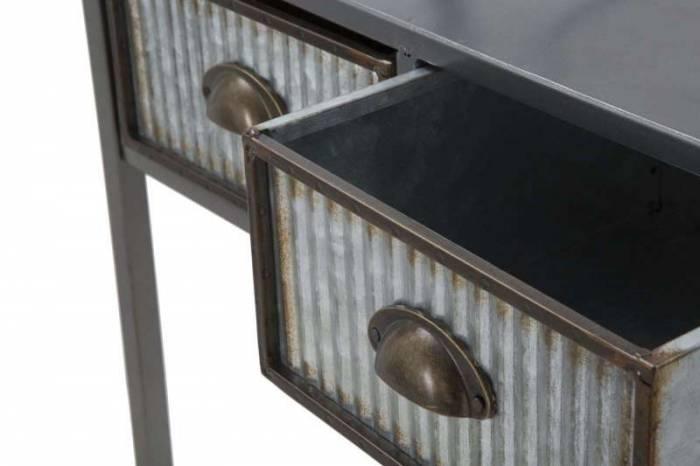 Dulap de baie înalt Lewis, 184.5x60.5x29 cm, metal, argintiu