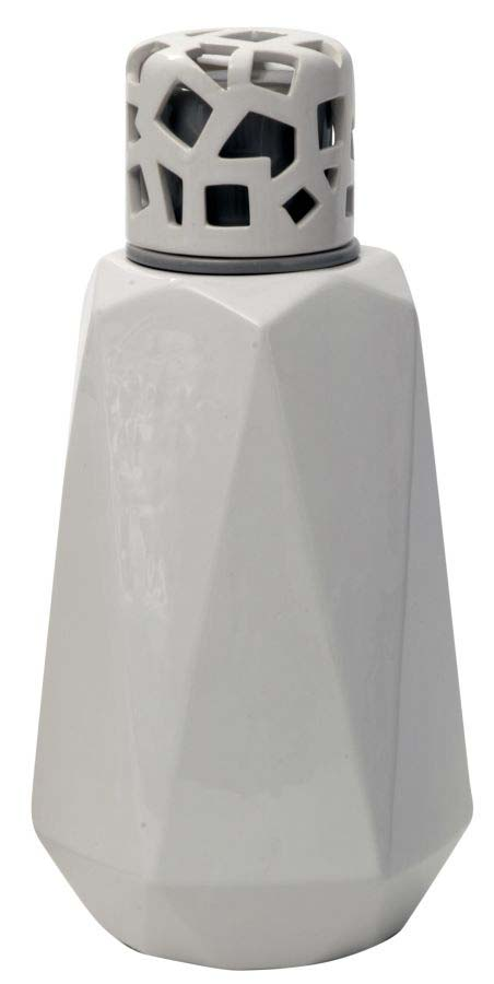 Vază decorativă Alyssa, 32x15.5x14 cm, ceramica, alb