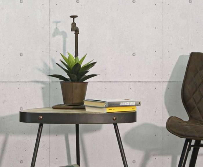Vază decorativă Aurore, 48x19x15 cm, metal, maro