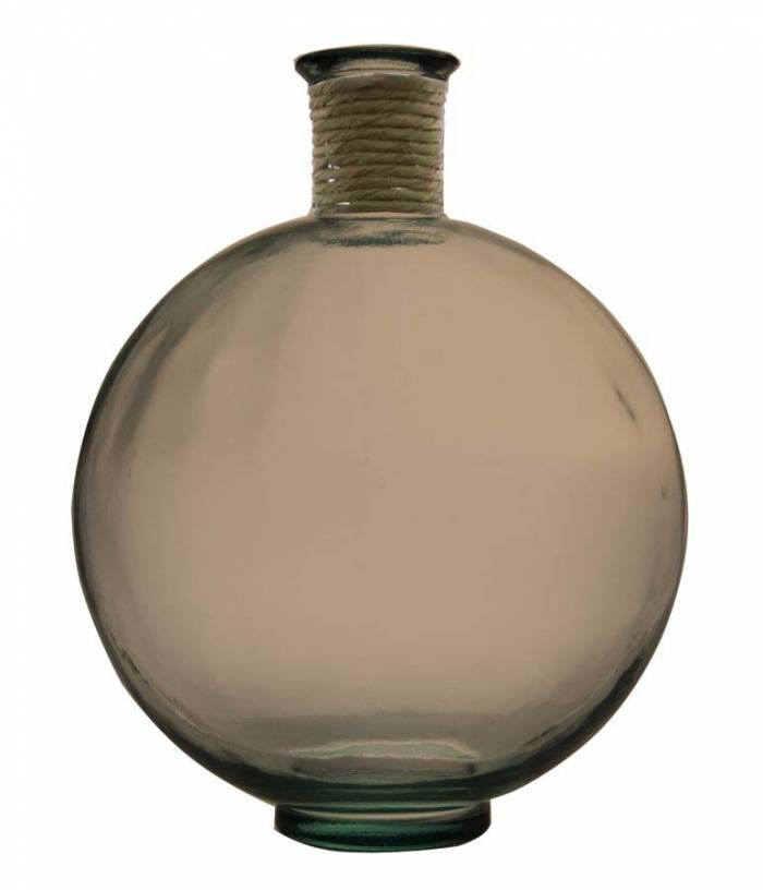 Vază decorativă Beatris, 44x34x34 cm, sticla