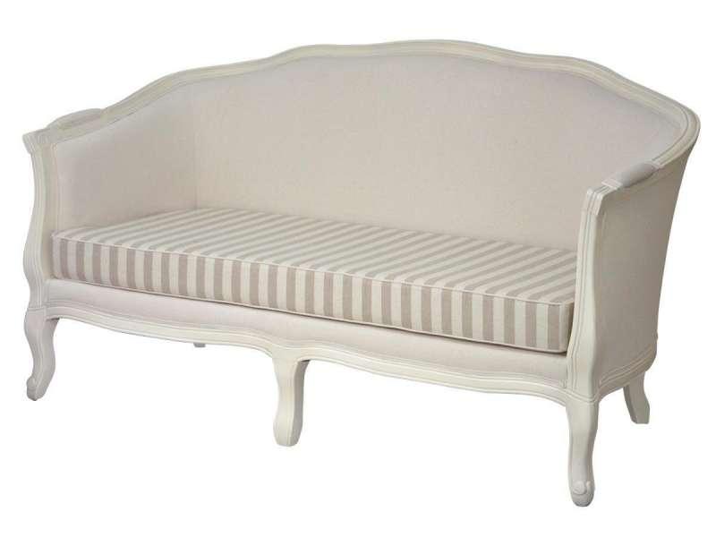 Canapea clasică cu dungi Eusebio 92x157x78 cm poza