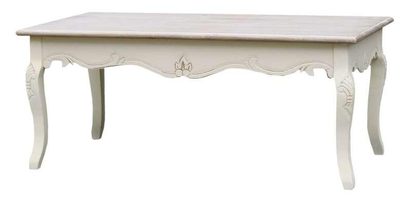 Masă de cafea Adelaida, 50x120x60 cm, lemn de plop/ mdf, crem/ maro deschis poza