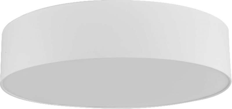 Plafonieră rotundă Tamar, 13x60x60 cm, metal, alb poza