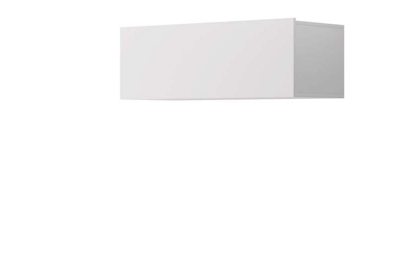 Raft de perete Curtis, 31x90x37 cm, pal, alb poza