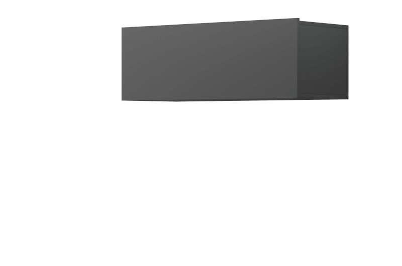 Raft de perete Curtis, 31x90x37 cm, pal, gri poza