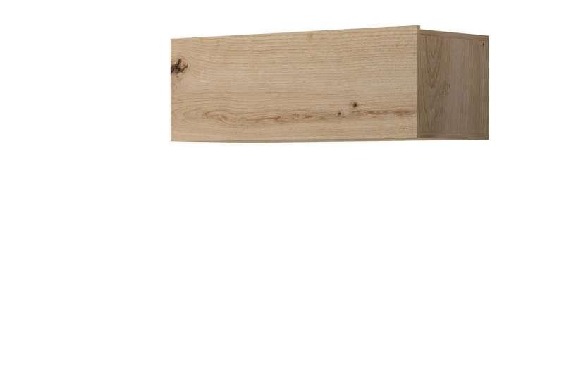 Raft de perete Curtis, 31x90x37 cm, pal, maro poza