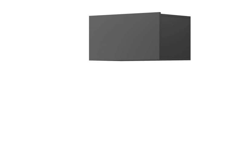 Raft dreptunghiular Curtis, 31x60x37 cm, pal, gri poza