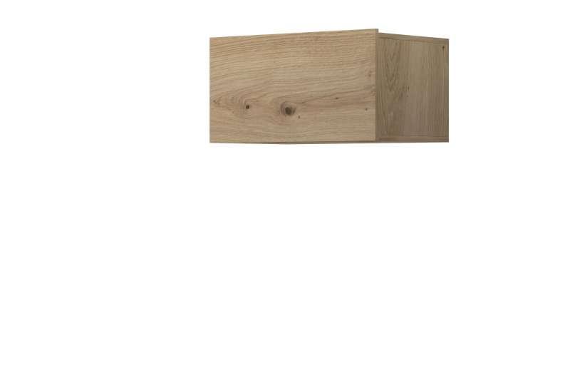 Raft dreptunghiular Curtis, 31x60x37 cm, pal, maro poza