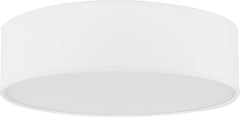 Plafonieră rotundă Tamar, 13x40x40 cm, metal, alb poza