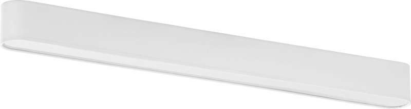 Plafonieră Terri, 8x103x9 cm, metal, alb poza