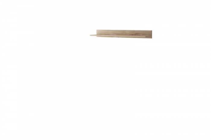 Etajeră Caron, 12x104x19 cm, pal, maro