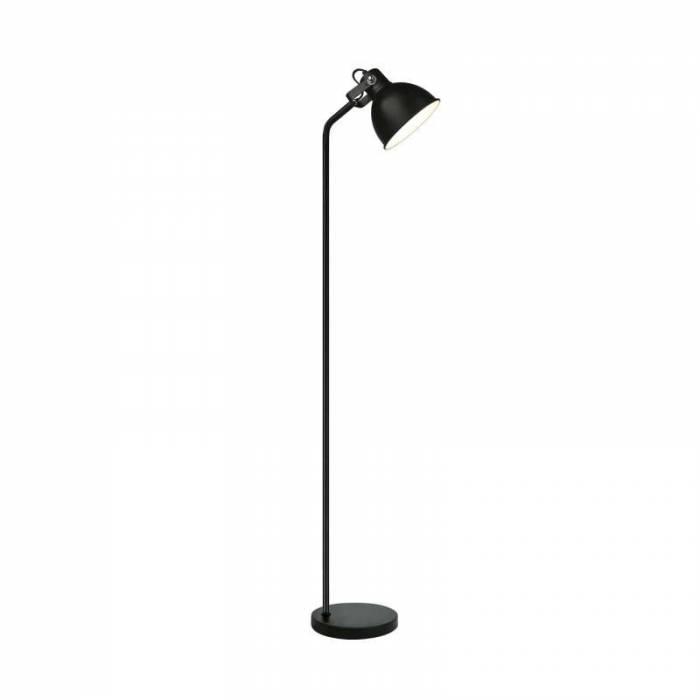 Lampadar Ryann, 160x25x25 cm, metal, negru