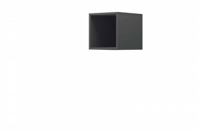 Raft cubic Curtis, 30x30x35 cm, pal, gri