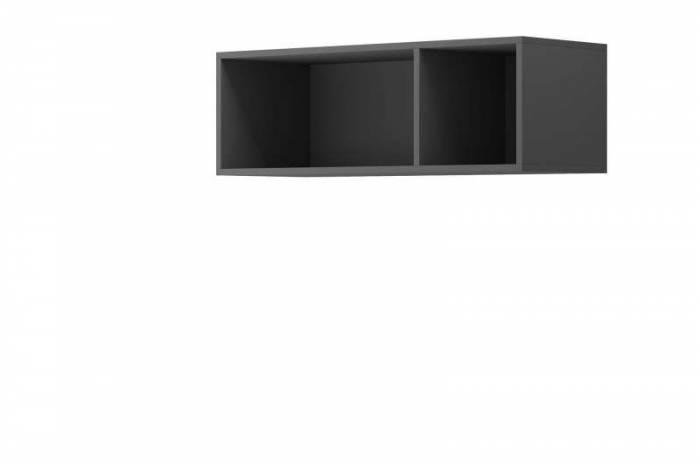 Raft de perete Curtis, 30x90x35 cm, pal, gri