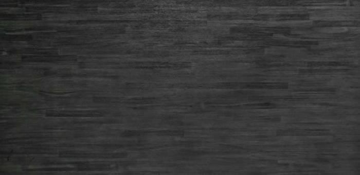 Comodă cu patru sertare și rafturi Selena, 120x95x45 cm, lemn de acacia/ mdf/ metal, gri/ negru