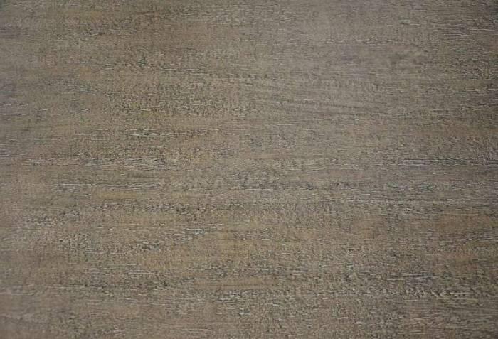Comodă cu șase sertare Ebonie, 85x100x40 cm, lemn de arbore de cauciuc/ furnir/ metal, ivoire/ maro