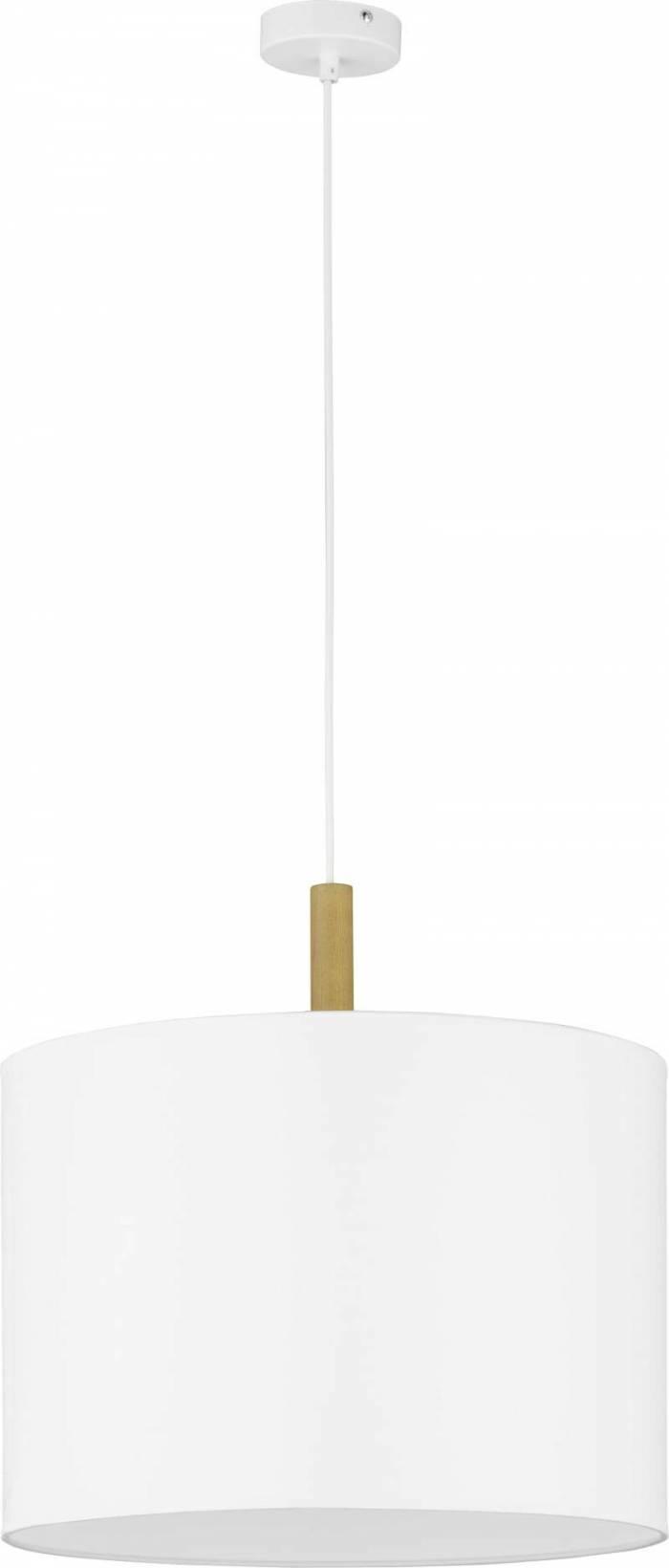 Lustră pendul Tomoko, 110x50x50 cm, lemn/ metal, alb/ pin