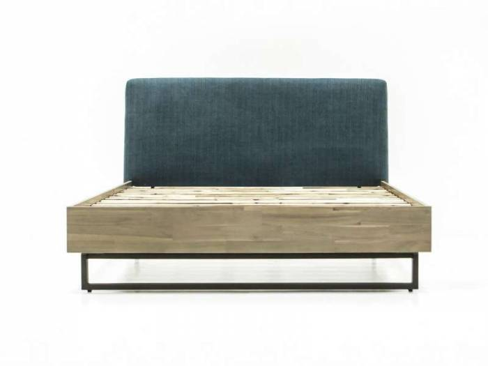 Pat Daniel 140x200 cm, lemn de acacia/ mdf, gri