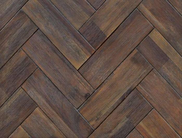 Pat dublu Genaro, 140x200 cm, lemn de acacia, maro