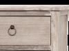 Comodă cu șase sertare Gilbert, 80x100x40 cm, lemn de plop/ mdf/ furnir/ metal, maro deschis