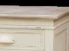 Noptieră cu sertar și ușă Adelaida, 69x45x35 cm, lemn de plop/ mdf, crem/ maro deschis