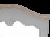 Oglindă de podea Gina , 168x49x8 cm, lemn de plop/ mdf/ metal, gri/ maro deschis