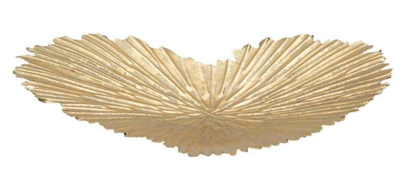 Tavă Heart, 29x25x2 cm, metal, auriu poza