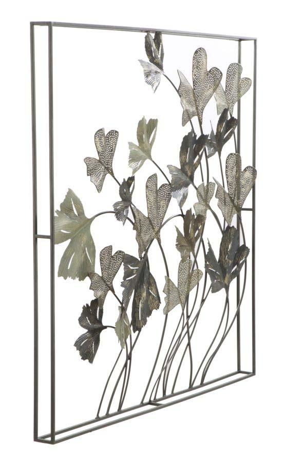 Decorațiune de perete Diana, 101x101x8 cm, metal, multicolor