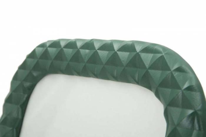 Ramă foto Block, 31x26x1.8 cm, polirasina/ sticla, verde