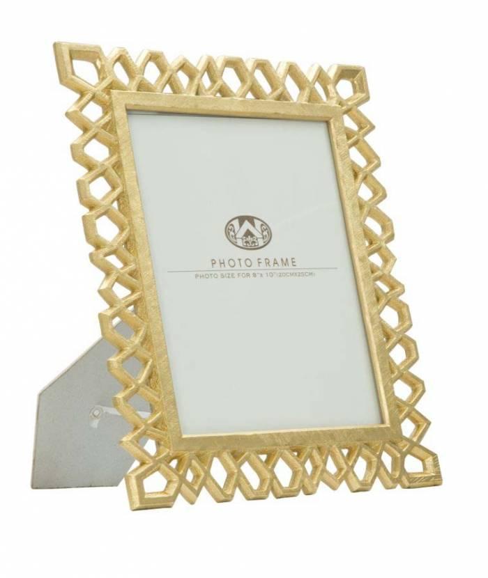 Ramă foto Classic Glam, 34.8x29.8x1.8 cm, polirasina/ sticla, auriu